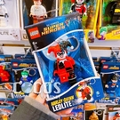樂高鑰匙圈 DC英雄 小丑女 哈利奎茵 HARLEY QUINN 人偶造型LED 鑰匙圈鎖圈 盒裝 COCOS LG320