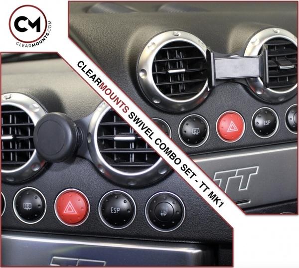 加拿大Clearmounts 奧迪TT MK1 1999-2006 旋轉磁性和搖籃架 強強滾