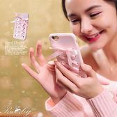 手機殼 緞帶交叉蝴蝶結iPhone手機殼-Ruby s 露比午茶