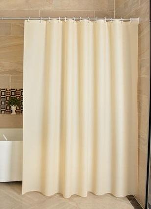 浴簾 防水浴簾套裝浴室淋浴隔斷簾衛生間防霉簾子布加厚掛簾免打孔門簾【快速出貨】