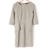 【MASTINA】簡約韓系顯瘦造型洋裝-灰 10501