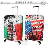《飛翔無線3C》Intermission 行李箱保護套 L號 26-29吋│公司貨│旅行箱套 義大利國旗 美國國旗