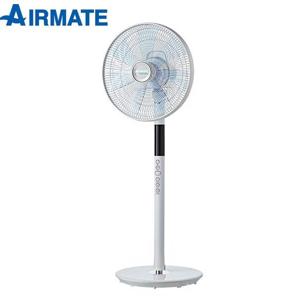 【AIRMATE艾美特】16吋八字擺頭DC節能遙控立地電扇(FS4063DR)