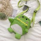 手機包-韓國小清新可愛立體恐龍拉鍊小方包 肩背包 手機包【AN SHOP】