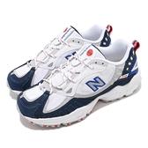 New Balance 慢跑鞋 NB 703 白 深藍 男鞋 運動鞋 越野 Trail 【ACS】 ML703BED