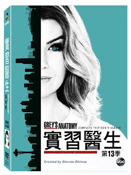 實習醫生 第13季 DVD Grey's Anatomy Season 13 免運 (購潮8)