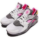 【六折特賣】Nike 武士鞋 Air Huarache Run SE 白 灰 粉紅 土黃 ACG 配色 運動鞋 男鞋【PUMP306】 852628-002