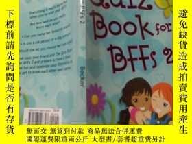 二手書博民逛書店the罕見quiz book for bffs 2:bffs 2的測驗書Y200392