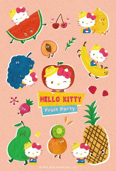 【拼圖總動員 PUZZLE STORY】Hello Kitty水果大冒險-水果派對 PuzzleStory/三麗鷗 x 咚東/繪畫/70P