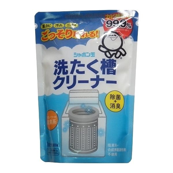 日本SHABON 洗衣機專用清潔劑 洗槽劑 洗衣機專用 500g【七三七香水精品坊】