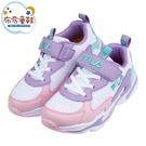 《布布童鞋》FILA潮流配色粉紫藍兒童運動鞋(19~24公分) [ P1F193F ]