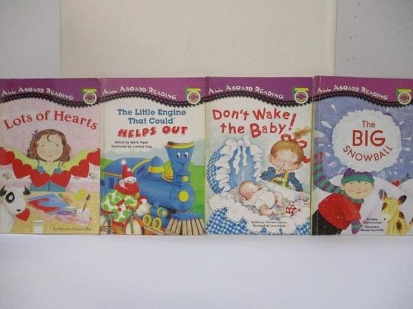 【書寶二手書T6/語言學習_JD5】Picture Reader-Lots of Hearts_The Big SnowBall等_4本合售