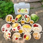 戶外餐具套裝 便攜旅行碗勺子筷子野餐野炊用品露營【橘社小鎮】