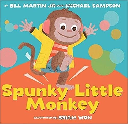 【麥克書店】SPUNKY LITTLE MONKEY/ 平裝繪本《主題: 幽默 Humor》