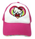 【卡漫城】 Hello Kitty 帽子 桃紅愛心 ㊣版 遮陽帽 棒球帽 童帽 美國帶回 女孩 鴨舌帽 凱蒂貓