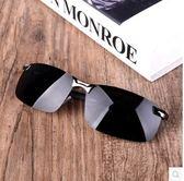 太陽鏡墨鏡男士偏光眼鏡駕駛鏡方形PLL538【男人與流行】