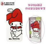 【Melody 白底紅帽】日本原裝保護殼 Apple【iPhone5、iPhone5S】三麗鷗授權、先創盒裝公司貨