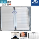 【海夫健康生活館】添大興業 斜坡板 二片折合式/輕量鋁合金/寬72長120公分(TT-72-120)