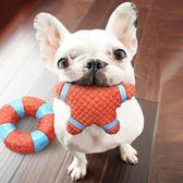 狗狗玩具發聲狗咬法斗柯基柴犬鬥牛犬比熊幼犬磨牙耐咬寵物用品