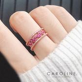 《Caroline》★韓國熱賣造型時尚  Bling  Bling 絢麗閃亮動人戒指71282