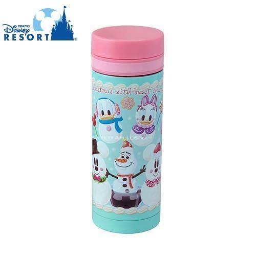(現貨&樂園實拍圖) 東京迪士尼 米奇&米妮&雪寶&唐老鴨&黛西 甜蜜聖誕 保溫杯