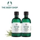 THE BODY SHOP 茶樹淨膚深層潔面膠-400MLx2 百貨專櫃正貨