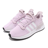 adidas 慢跑鞋 U_Path Run J 紫 粉紫 白 大童鞋 女鞋 休閒鞋 運動鞋【PUMP306】 G28112