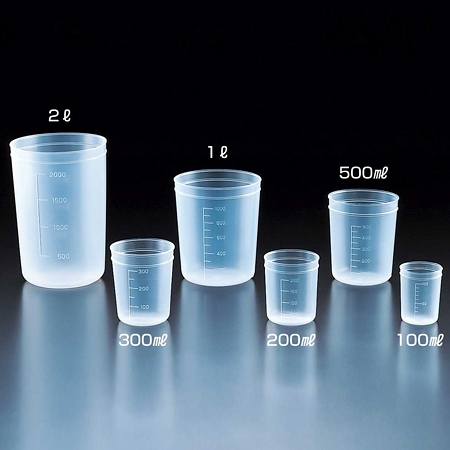 《SANPLATEC》拋棄式燒杯 PP Beaker, Disposable, PP