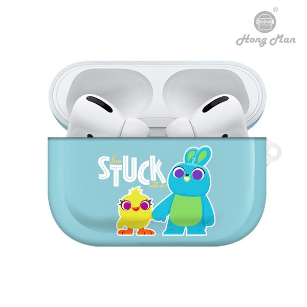 迪士尼系列 Airpods Pro耳機保護套 鴨霸與兔崽子