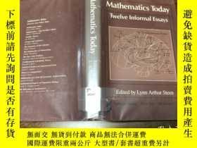 二手書博民逛書店Mathematics罕見Today , 12 Informal