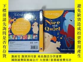 二手書博民逛書店In罕見the Night Garden: Nice and Quiet [Board Book]花園寶寶故事書奇