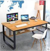 辦公桌簡易桌子電腦台式桌家用簡約經濟型書桌學生寫字桌辦公桌igo 運動部落