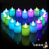 led電子蠟燭燈發光創意浪漫錶白告白求婚結婚全館滿千88折