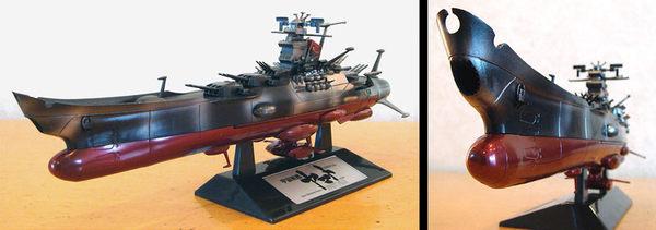 Poco+玩具部 全新 DEAGOSTINI 電鍍限定1/665 SPACE BATTLESHIP 宇宙戰艦 YAMATO 大和號