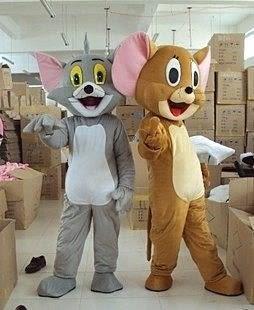 卡通人偶服裝湯姆貓 傑瑞鼠 Cosplay服裝【藍星居家】