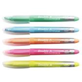 【Double A】DAHL 淡色系列 螢光筆