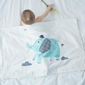 玉米ma嬰幼兒純棉紗布大浴巾寶寶毛巾被新生兒蓋毯雙面柔軟 森活雜貨