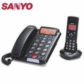 SANLUX 台灣三洋 數位親子機電話  DCT-9951 黑