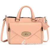 MULBERRY Small Willow Tote 粉色小牛皮兩用提包 1410443-05