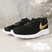 Nike Tanjun 黑金勾 網布 慢跑鞋 運動鞋 男女 情侶鞋 (布魯克林) 2018/10月 AQ7154-001