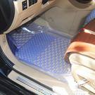 汽車防水腳墊加厚透明軟塑膠防滑地墊日產新軒逸騏達驪威天籟奇駿  夢娜麗莎