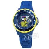 賠售出清 ICE Watch / LMSSRBHSS11 / LMIF系列 限量款 Cathy Guetta 嘻哈 矽膠手錶 藍黃色 36mm