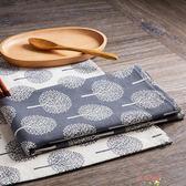 居家家 棉麻中式餐桌墊長方形隔熱墊 家用布藝杯墊餐墊西餐墊餐布【購物節限時優惠】
