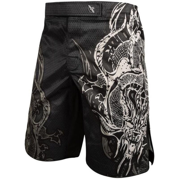 【VENUM旗艦店】S~XXL 隼HAYABUSA精品格鬥褲~UFC冠軍GSP品牌~隼黑龍紋~MMA泰拳 健身房款