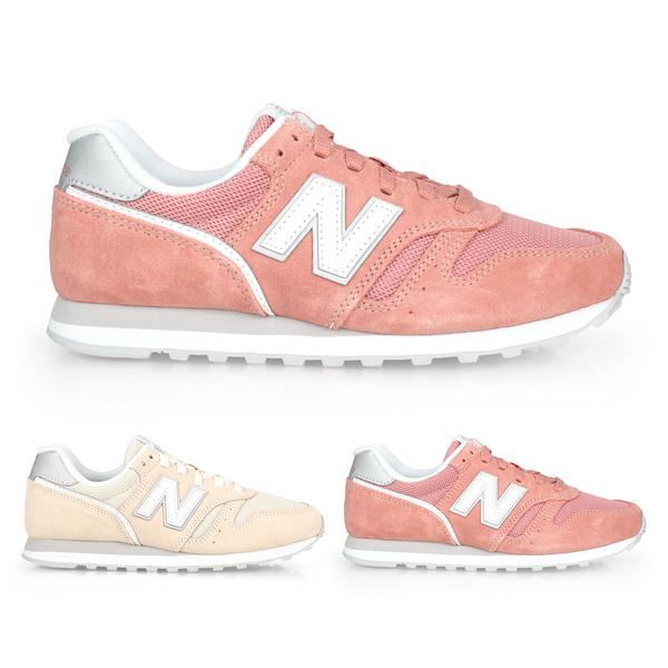 NEW BALANCE 女復古慢跑鞋(免運 麂皮 373系列 NB N字鞋 標準楦≡體院≡ WL373AC2_1