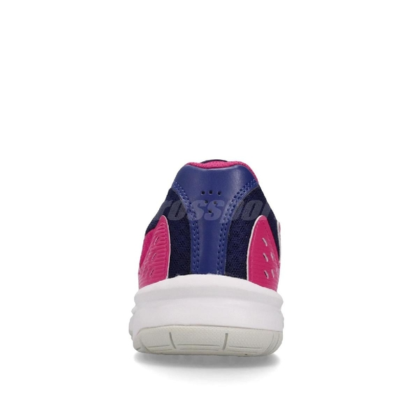 Asics 排羽球鞋 Upcourt 3 桃紅 藍 女鞋 運動鞋 【ACS】 1072A012500