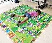 好康推薦環保嬰兒寶寶爬行墊爬爬墊折疊環保雙面兒童爬行毯安全家用防潮墊