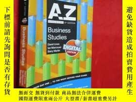 二手書博民逛書店A-Z罕見Business Studies Handbook 【