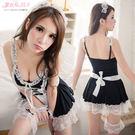 女僕裝 XXXL 加大尺碼角色扮演制服 蘿莉連身裙 黑白蕾絲洋裝- 愛衣朵拉