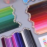 鉛筆 100彩鉛油性非水溶96色不重復彩色鉛筆美術漫畫手賬秘密圖畫培訓